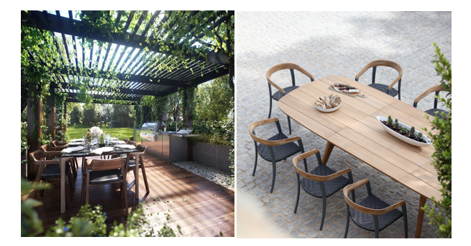Outdoor eating Royal Botania Jive allthelittledetails.de
