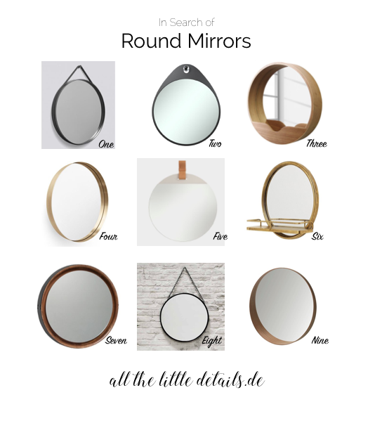 In Search of Round Mirrors allthelittledetails.de