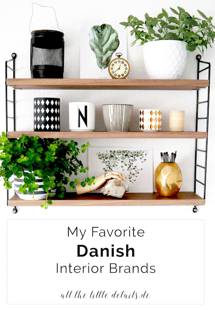 My Favourite Danish Interior Brands allthelittledetails.de