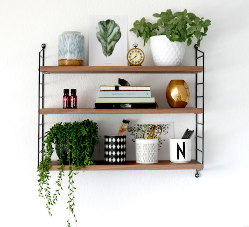 How to style a string shelf allthelittledetails.de